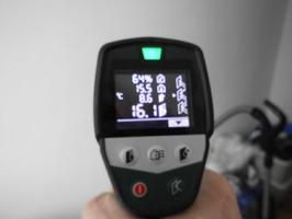 relative Luftfeuchte, Bauteiltemperatur, Taupunktermittung: Schimmelgefahr?